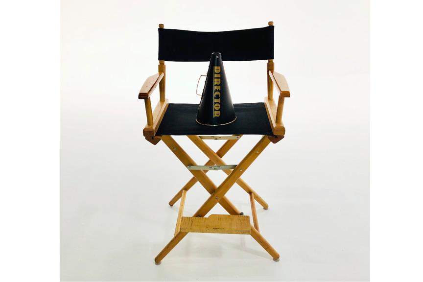 white cyc film studio
