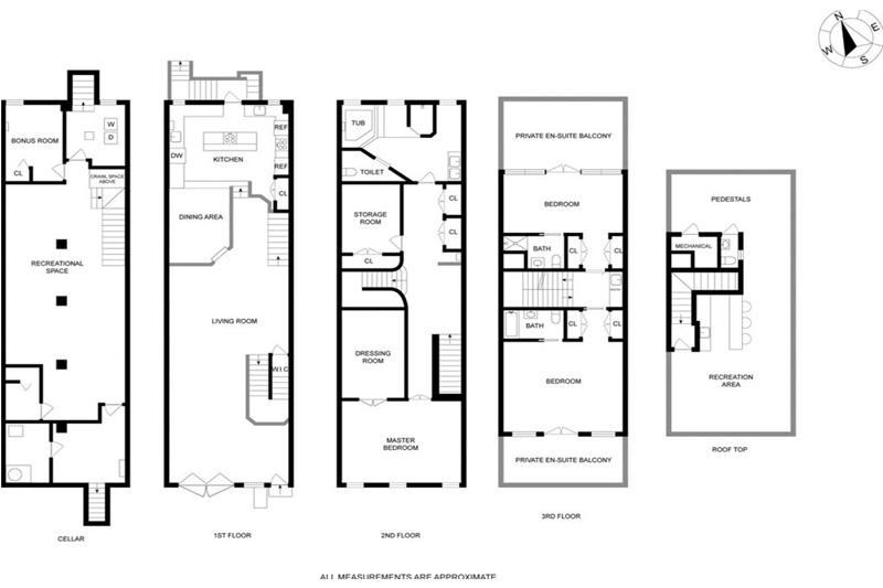 brooklyn film location floor plan