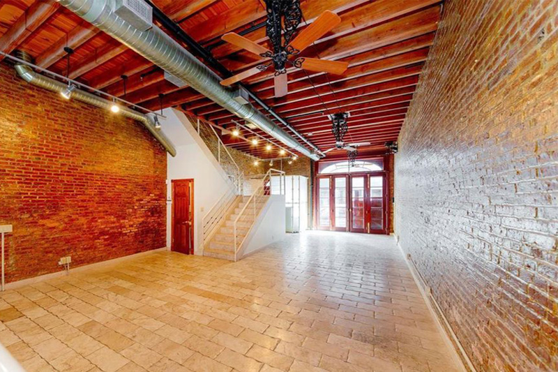 film location Brooklyn exposed brick